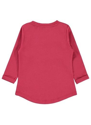 Kujju Kujju Kiz Bebek Sweatshirt 6-18 Ay Vişne Çürüğü Kujju Kiz Bebek Sweatshirt 6-18 Ay Vişne Çürüğü Renkli